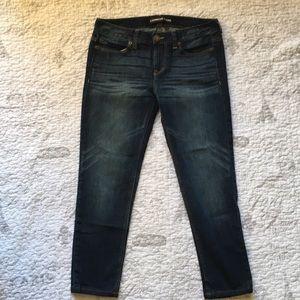 Express Jeans boyfriend low rise pants 4